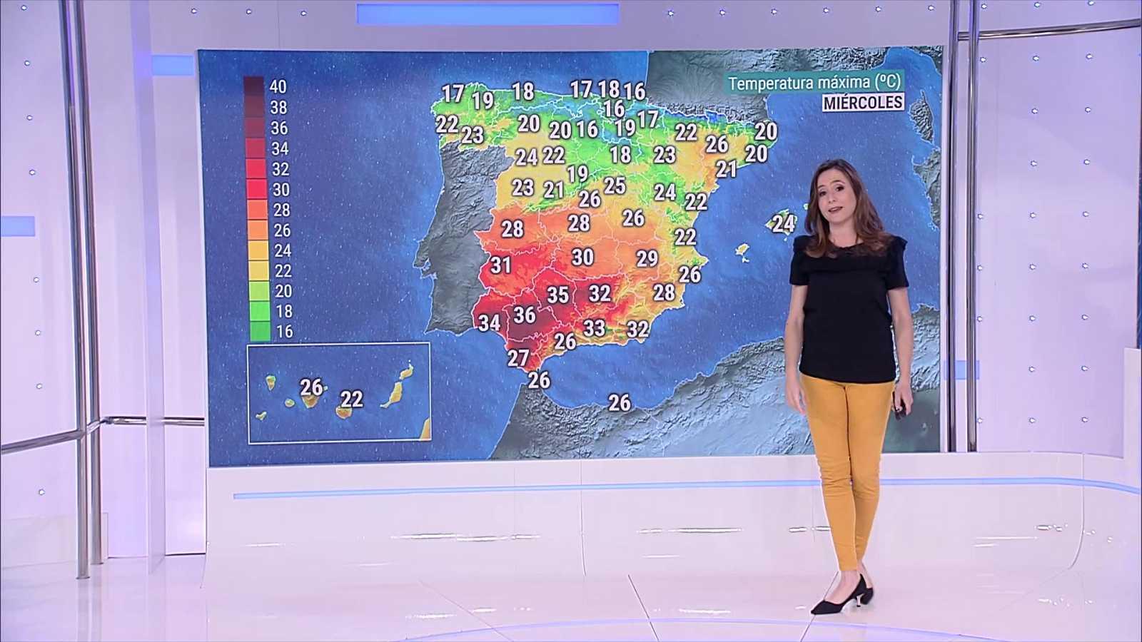 Viento localmente fuerte en las islas Canarias de más relieve - ver ahora