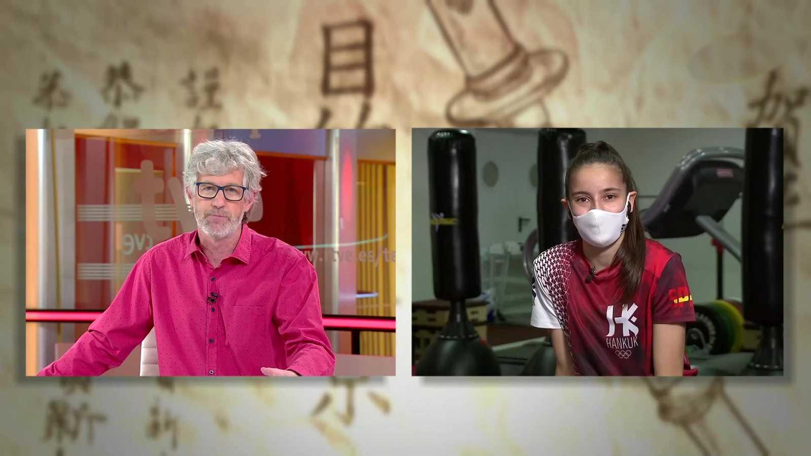 Objetivo Tokio - Programa 158: Adriana Cerezo, taekwondista, y Marc Tur, marchador - ver ahora