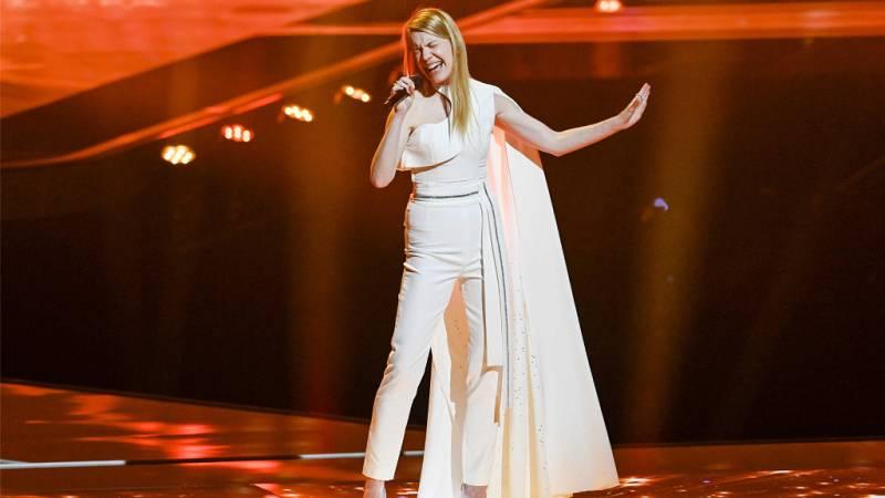 """Eurovisión 2021 - Eslovenia: Ana Soklic canta """"Amen"""" en la primera semifinal"""
