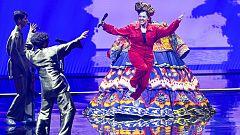 """Eurovisión 2021 - Rusia: Manizha canta """"Russian woman"""" en la primera semifinal"""