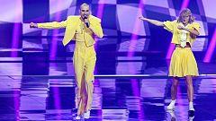"""Eurovisión 2021 - Lituania: The Roop canta """"Discoteque"""" en la primera semifinal"""