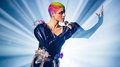 """Eurovisión 2021 - Australia: Montaigne canta """"Technicolour"""" en la primera semifinal"""