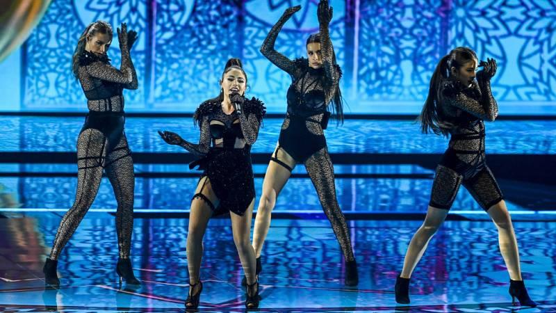 """Eurovisión 2021 - Azerbaiyán: Efendi canta """"Mata Hari"""" en la primera semifinal"""