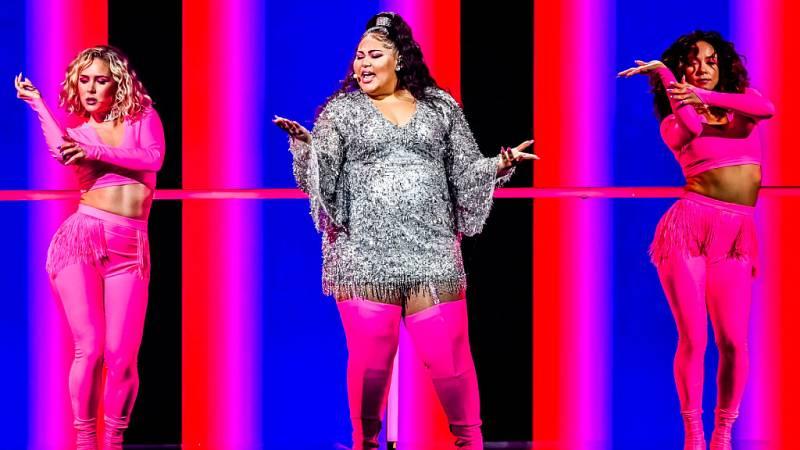 """Eurovisión 2021 - Malta: Destiny canta """"Je me casse"""" en la primera semifinal"""
