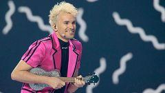 "Eurovisión 2021 - Minuto de Alemania: Jendrik Sigwart canta ""I don't feel hate"" en la primera semifinal"