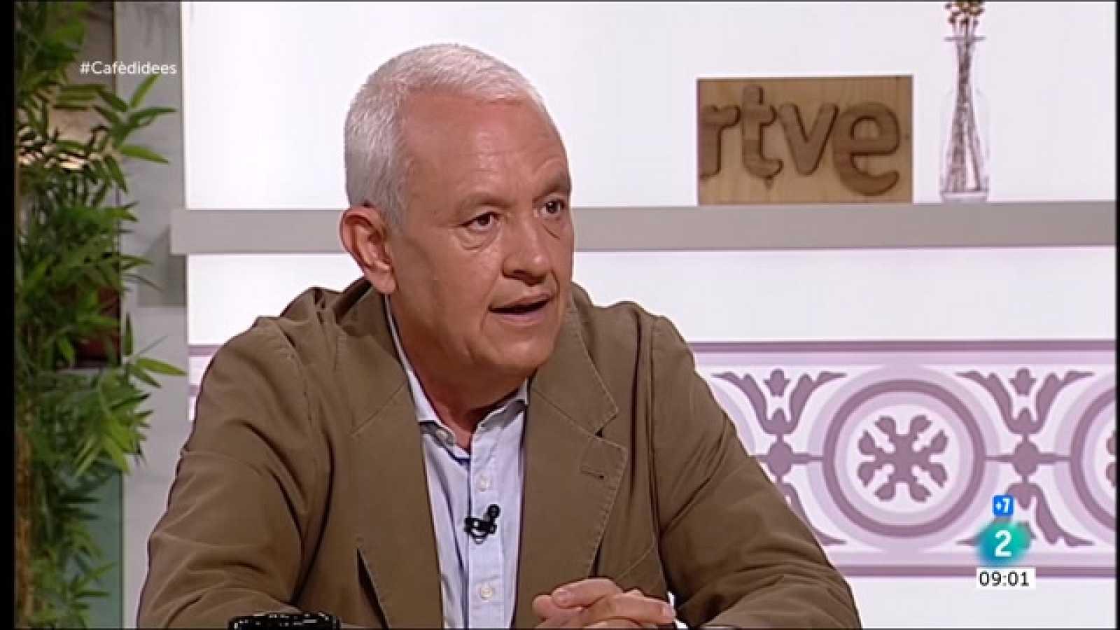 """Cafè d'idees - Santi Rodríguez: """"És el mateix que governi Torra, Puigdemont o Aragonès"""""""