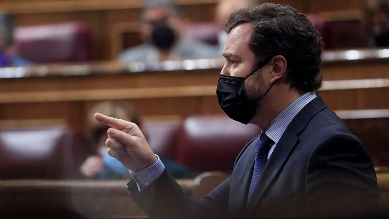 """Vox achaca la """"invasión"""" de Ceuta a """"debilidad"""" del Gobierno y Calvo pide apoyo al Ejecutivo """"legítimo y constitucional"""""""