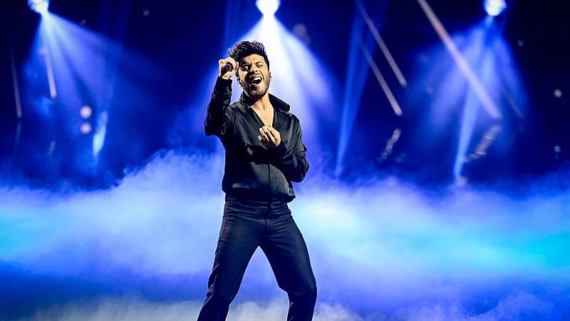 Eurovisión 2021 - Tercer ensayo completo de Blas Cantó