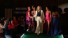 Cuéntame cómo pasó - Diseños 'Mercedes Fernández' desfilan en la Pasarela Cibeles