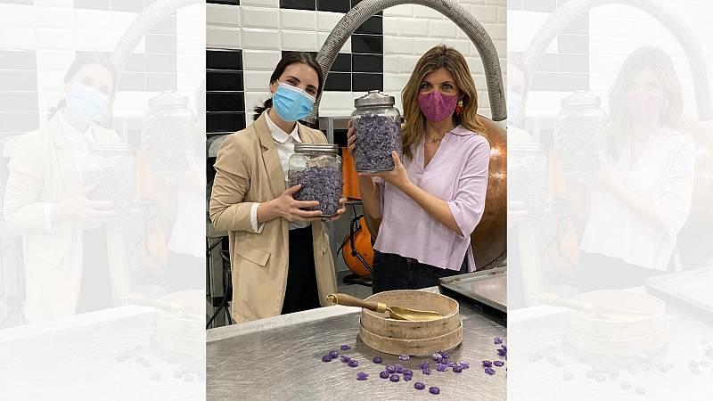 Aquí la Tierra - Caramelos de violeta: 169 años representando el sabor de Madrid