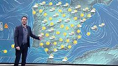 La Aemet prevé temperaturas diurnas en aumento casi generalizado en todo el país