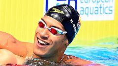 Hugo González, oro en los 200 estilos, hace historia para la natación española