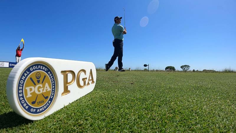 Jon Rahm, al par en la primera jornada del PGA
