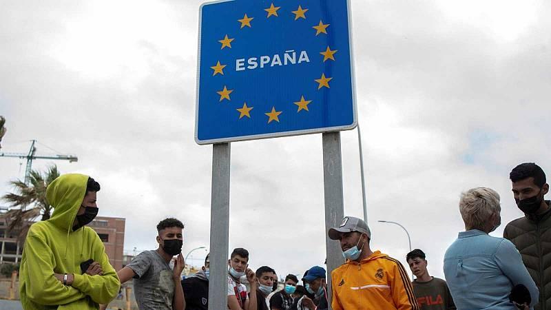Más de 6.500 migrantes de los que entraron en Ceuta han regresado ya a Marruecos
