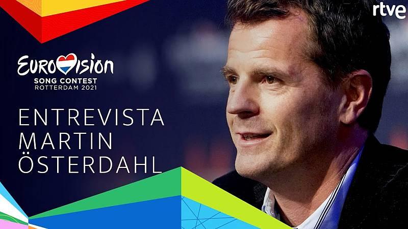 Eurovisión 2021 - Entrevista a Martin Österdahl, supervisor ejecutivo