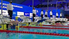 Un fallo técnico obliga a repetir una final en el Europeo de natación