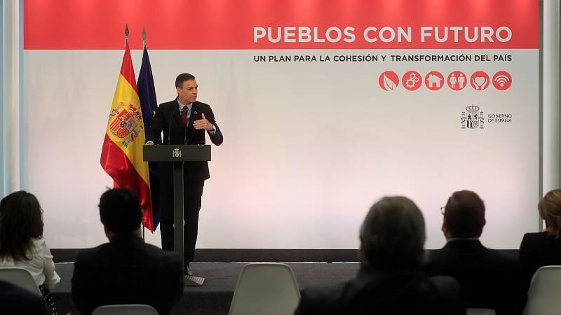 Sánchez anuncia 10.000 millones del plan de recuperación para desarrollo rural