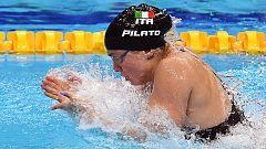Benedetta Pilato bate el récord del mundo de 50 braza con 16 años