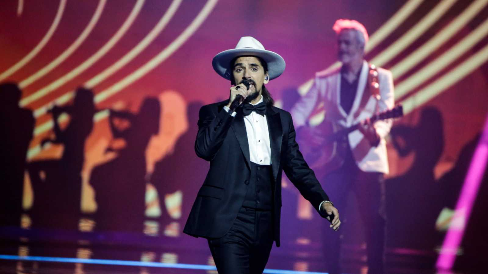 """Eurovisión 2021 - Portugal: The Black Mamba canta """"Love is on my side"""""""