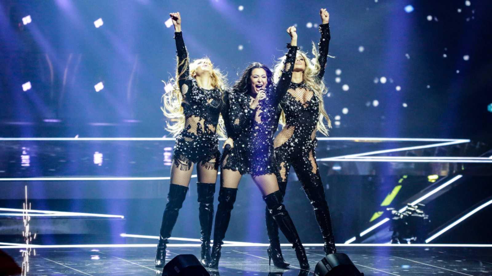"Eurovisión 2021 - Serbia: Hurricane canta ""Loco, loco"""