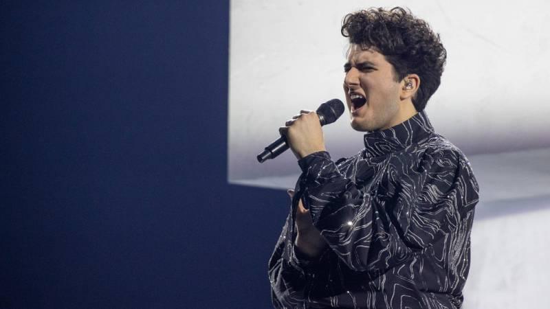 """Eurovisión 2021 - Suiza: Gjon's Tears canta """"Tout l'Univers"""""""