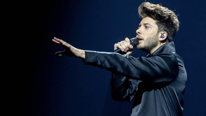 """Eurovisión 2021 - España: Blas Cantó interpreta """"Voy a quedarme"""""""