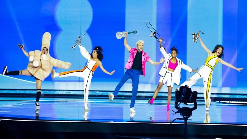 "Eurovisión 2021 - Alemania: Jendrik Sigwart canta ""I don't feel hate"""
