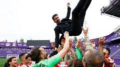 """Simeone: """"En un año tan difícil salió campeón el Atlético, eso tiene una marca"""""""