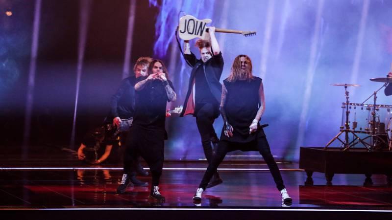 "Eurovisión 2021 - Finlandia: Blind Channel canta ""Dark side"""