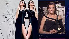 Dale al play: Nieves Álvarez nos cuenta la historia del vestido de Roberto Diz