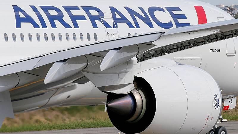 Air France opera un vuelo de París a Montreal con aceite de cocina usado como combustible