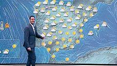 La Aemet prevé lluvias fuertes en el sur de Levante y Baleares