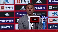 Fútbol - Rueda de prensa convocatoria Luis Enrique seleccionador español absoluto