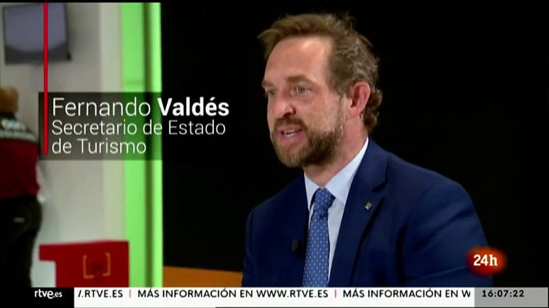 Parlamento - La entrevista - Fernando Valdés, secretario de Estado de Turismo - 22/05/2021