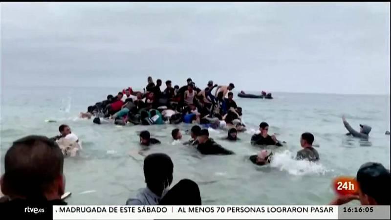 Parlamento - El foco parlamentario - Crisis migratoria en Ceuta - 22/05/2021