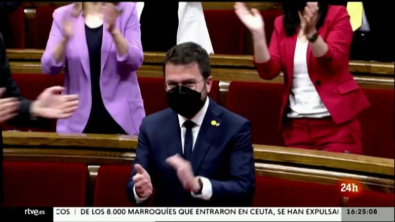 Parlamento - Otros parlamentos - Pere Aragonès, nuevo President de Cataluña - 22/05/2021