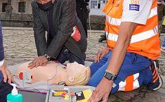 Técnica de reanimación ante unha parada cardíaca
