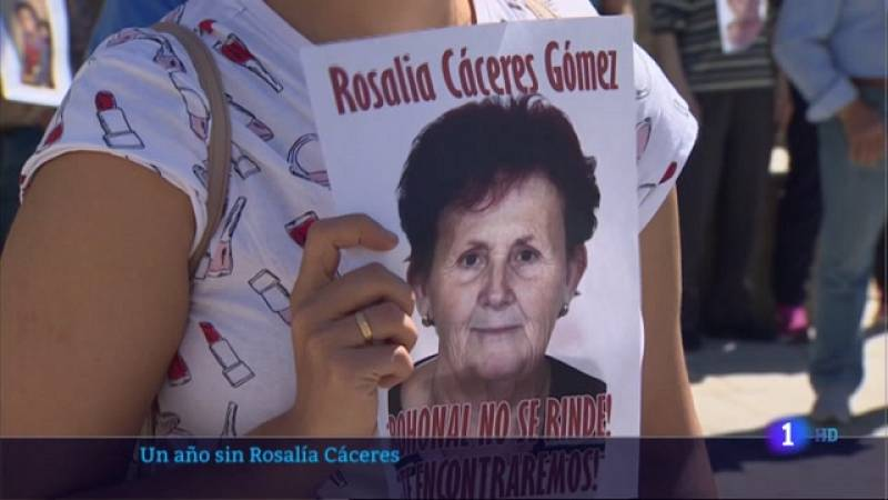Un año de la desaparición de Rosalía Cáceres - 24/05/2021