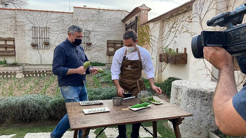 Ramón Arangüena y el uso de las hierbas silvestres en la cocina