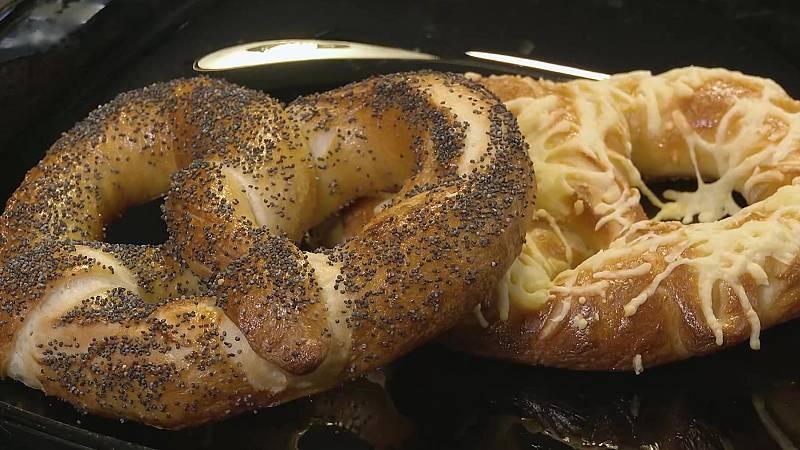 Receta de pretzel casero