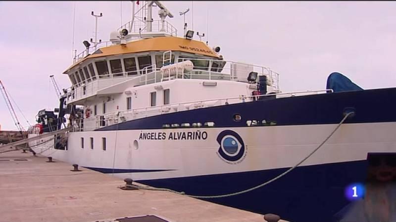 El barco procedente de Galicia con un sonar a bordo llegará el fin de semana