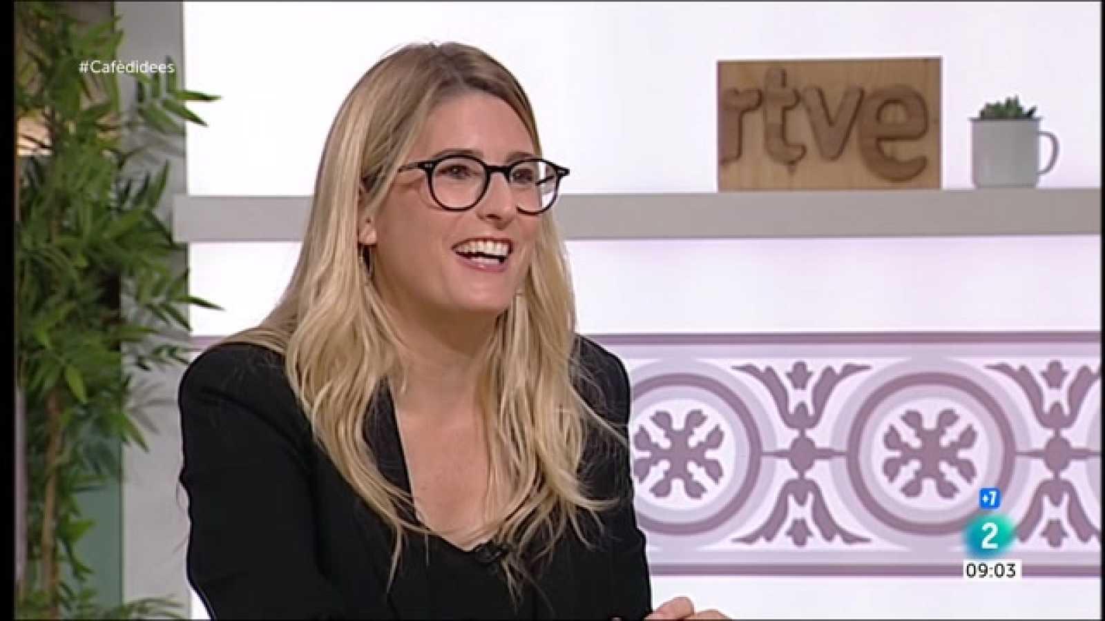 """Cafè d'idees - Elsa Artadi: """"Aragonès ha decidit tenir una relació cordial amb el Govern espanyol"""""""