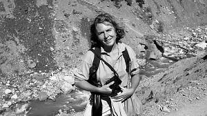 Isabel Azkárate, fotógrafa en el Festival de San Sebastián