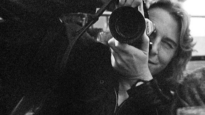 Detrás del instante - Isabel Azkárate fotografió a la actriz Bette Davis
