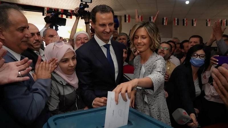 Siria celebra elecciones presidenciales en las que Al Asad busca revalidarse