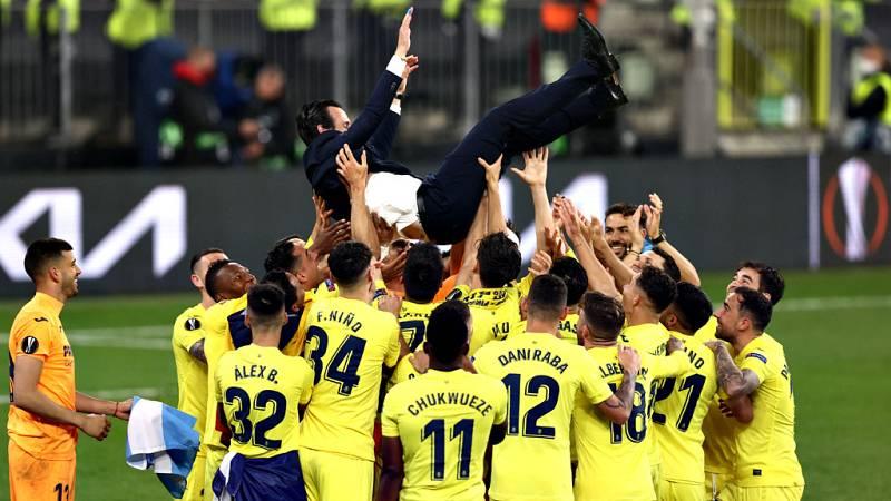 El triunfo del Villarreal reafirma a Emery como el rey de la Europa League
