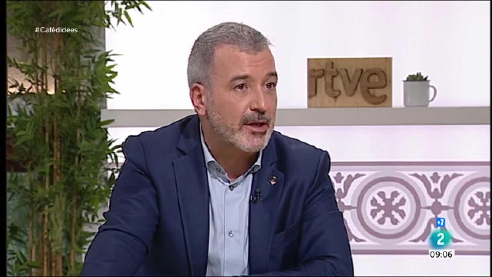 """Cafè d'idees - Jaume Collboni: """"La fortalesa de l'Estat de Dret també es demostra donant indults"""""""
