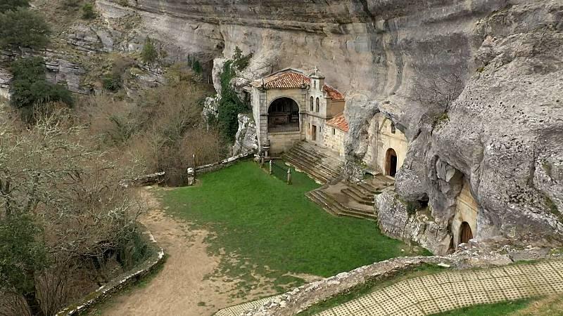 80 cm - La ermita de San Bernabé en Ojo Guareña