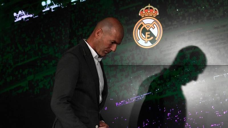 El Real Madrid confirma la marcha de Zinédine Zidane