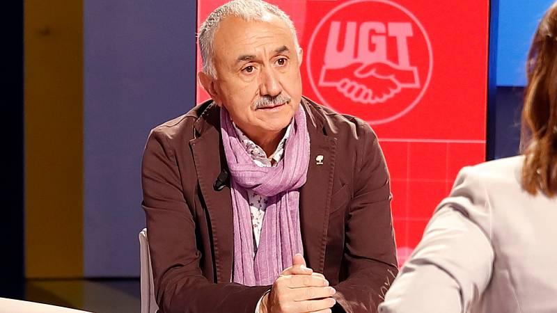 """Álvarez (UGT), satisfecho con el acuerdo para prorrogar los ERTE: """"Bien está lo que bien acaba"""""""